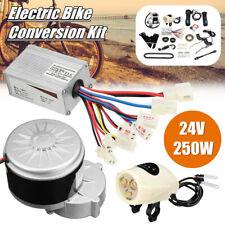 250W KIT CONVERSIÓN BICICLETA ELÉCTRICA 24V modificación vuelva a colocar los Hágalo usted mismo controlador de motor