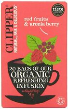 Organic infusion fruits rouges & aronia berry - 20 sacs