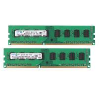 For Samsung 8GB 2X 4GB PC3-10600U DDR3 1333MHz Desktop Memory RAM Only for AMD #