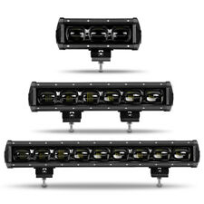 "8"" 14"" 20"" 27"" 34"" 40"" 6D LED Light Bar Work Flood Fog Offroad Truck ATV UTV SUV"