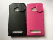 Vertical style PU leather flip phone case, cover to fit Nokia Lumia 710 phone
