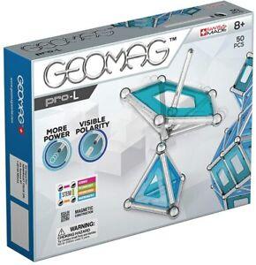 GEOMAG Magnetic Toys Kids Educational - STEM Pro Kit Construction Engineering