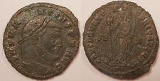 Maxence (306-312), Follis Carthage, La déesse de l'Afrique, Très rare !!