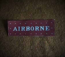 British 1st/6th Airborne Division reproduction printed badges WWII WW2