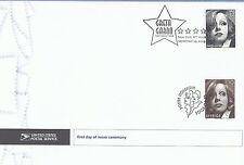 Greta Garbo Joint Issue (USA/Sweden) First Day Cover w/Official Ceremony Program