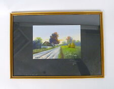 Pastel Picture signed 1921
