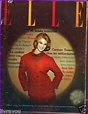 ▬►Elle 824 de 1961 Johnny Hallyday_Deneuve_Liz Taylor_Mode Fashion Vintage