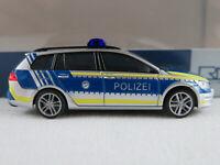 """Rietze 53315 VW Golf VII Variant (2013-2017) """"Polizei Bayern"""" 1:87/H0 NEU/OVP"""