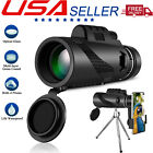 40x60 Zoom Optical HD Lens Monocular Telescope with Tripod Clip for Cell Phone