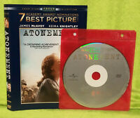 Atonement (DVD, 2008, Widescreen)Keira Knightley, James Mcavoy, Romola Garai