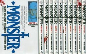 Monster 【Japanese language】 Vol.1-18 Set  Manga Comics