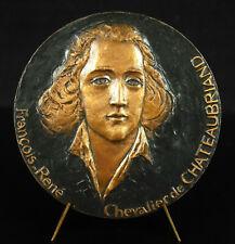 Medaille François-wiedergeboren De Chateaubriand Herren Politik Writer Romantik