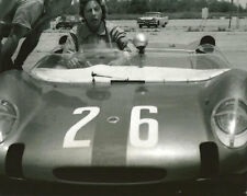 Vintage 8X10 Auto Racing Photo SCCA 1963 Courtland, AL Smokey Drolet Lotus 23