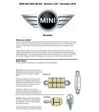 BMW MINI R60 COUNTRYMAN variant ERROR FREE WHITE LED LIGHT KIT Interior+Exterior