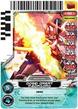 POWER RANGERS CARD GUARDIANS OF JUSTICE :Gosei Great Megazord 023 X 4