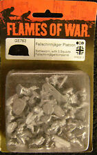 Flames of War GE763  Fallschirmjager platoon