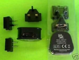 Reisestecker Adapter Set 4-teilig CE TÜV Typ  A , G , I  Neuware!