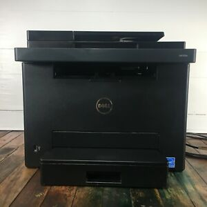 Dell E525W Business All-In-One Laser Color Multifunction Printer w/ USB Cable