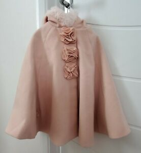 Girls Monsoon Pink Cape. Age 2-3. Excellent Condition. Worn few times. Gorgeous.