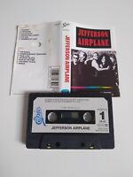 JEFFERSON AIRPLANE S/T SELF TITLED CASSETTE TAPE 1989 PAPER LABEL EPIC CBS