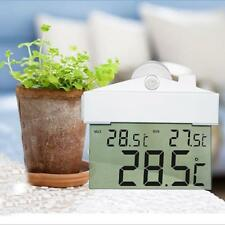 Digital Window Thermometer Temperature Indoor Outdoor Weather Temperature