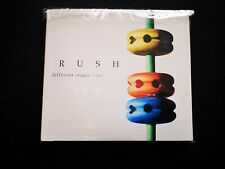 RUSH - DIFFERENT STAGES  LIVE -1998 rare Japanese - 3 CD G.Lee N.Peart A.Lifeson