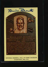 ROBIN ROBERTS 1964 HOF HALL OF FAME PLAQUE AUTHENTIC  AUTOGRAPH SIGNATURE AX2563