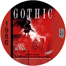 "Gothic (1986) Classic Horror and Sci-Fi CULT ""B-Movie"" DVD"