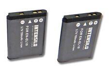 3x Batería 500mAh para Nikon CoolPix S2600//S3100//S3200//S3300