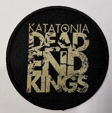 KATATONIA DEAD END KINGS    WOVEN  PATCH