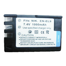 EN-EL9 EN-EL9A Replacement Battery for NIKON DLSR D3X D40 D40x D5000 D60 SLR Cam