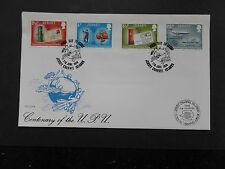 1974 U.P.U. FDC with Internaba 1974 Basel Exhibition Cachet