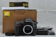 Nikon D610 24.3MP Digital SLR Camera Black Body with Box EXCELLENT #171220c