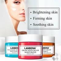 LANBENA Hyaluroinc Acid Cream Deep Hydration Vitamin C Cream Seed Cream