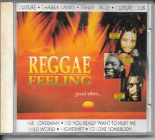 CD COMPIL 16 TITRES--REGGAE FEELING--CULTURE/SHABBA RANKS/INNER CIRCLE/MARLEY...