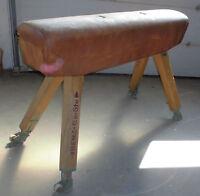 turnpferd alt benz pauschen turn pferd verstellbar top vintage loft retro deko