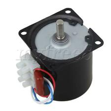 More details for ac220v 60rpm gear-box speed reducing electric synchronous gear motor a60ktyz