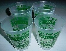 St Patrick'S Day Drinking Cups 6 Pack May The Road Rise Up To Meet You