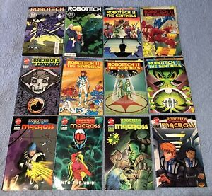 Massive Collection of 60 comic books (VF/NM-NM) ROBOTECH variety lot +more!
