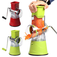 Vegetable Cutter Manual Round Slicer Multifunctional Slicer Kitchen Chopper ONY