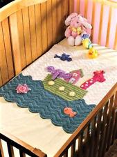 Baby Noah's Ark Blanket / cot  Aran Crochet PATTERN