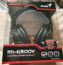 Genius H5-G500V Vibration Gaming Headset