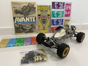 Tamiya Avante 1988 Vintage and Rare 58072 Shelf Queen with unpainted body shell