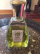 Orgia Cologne Colonia Splash Large Glass Bottle w 2 Ounces Left Myurgia Spain