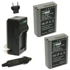 Olympus BLN-1, BCN-1 Battery (2-Pack) and Charger by Wasabi Power