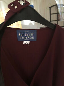 Collectif Pin-Up Rockabilly Kleid  50's Gr. M UK 12