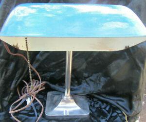 "ART DECO DESK LAMP MADE IN AUSTRIA BY ""ASATRAL"" CIRCA 1930"