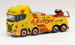 "Herpa: Scania CR HD Empl Bison Bergefahrzeug ""A. Kutter Memmingen"" (312899)"