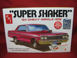 1964 Chevy Impala 409 Super Shaker Street Rod '64 AMT 1:25 Model Kit AMT917