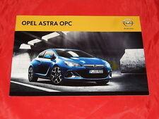 OPEL Astra J OPC Prospekt Brochure Depliant von 6/2013